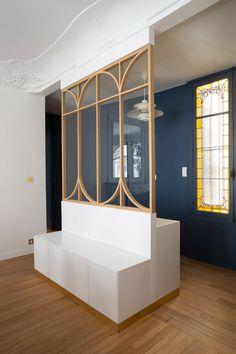 Lafontaine | Atelier FB - Architectes d'intérieur à Paris Love Decorations, Window Wall, Diy Furniture, Windows, Mansions, Interior Design, Architecture, Inspiration, Space