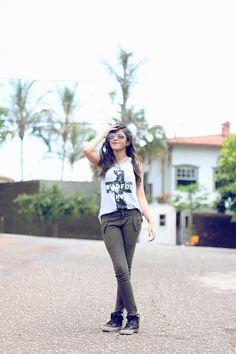 By Garotas   por Priscila Carvalho - um blog pessoal, de Belo Horizonte para o mundo ♥: Look at Pri: Wild Fox