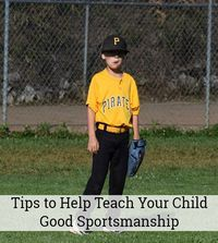Tips to help teach your child good sportsmanship