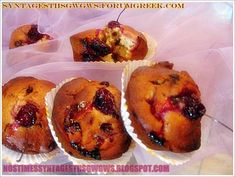 Muffins, Cherry, Homemade, Breakfast, Recipes, Food, Cupcakes, Cookies, Morning Coffee