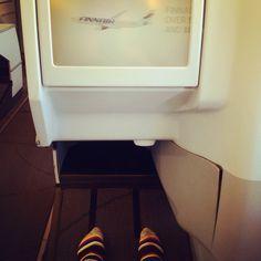 Business Class, Delhi to Helsinki. Finnair A330.