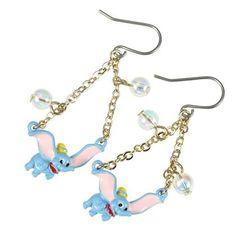 Dumbo Earrings Disney Store Japan