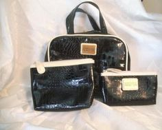 Kenneth Cole Reaction Cosmetic bag trio. Starting at $20 on Tophatter.com!