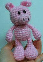 1500 Free Amigurumi Patterns: Little Bigfoot Piggy Crochet Pattern