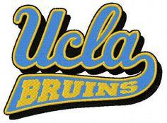 UCLA Bruins logo machine embroidery design. Machine embroidery design. www.embroideres.com