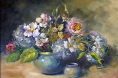 Row's Pottery Shed Helen Harper, Oil Paintings, Wordpress, Heaven, Pottery, Floral, Places To Visit, Art, Ceramica