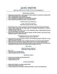 Writing A Professional Profile Resume Template Modern Gray  Work Wear  Pinterest  Template