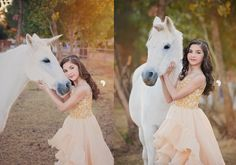 Absolutely loved this creative session! Golden MJ//Unicorn Dreams//Arizona child and equine photographer — Nakupenda Photography