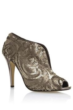 Next pewter heels