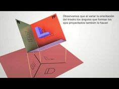 Dibujo Técnico: Sistema Axonométrico - YouTube