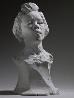 Bust of Haneko - Auguste Rodin Auguste Rodin, Musée Rodin, Pierre Auguste Renoir, Plaster Sculpture, Abstract Sculpture, Bronze Sculpture, Sculpture Art, Metal Sculptures, Rodin Museum