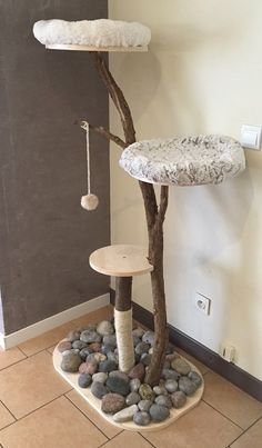 Pets, Home & Garden: Ideal toys for small cats Kitty Play, Diy Cat Tree, Cat Towers, Ideal Toys, Cat Playground, Cat Room, Cat Condo, Pet Furniture, Cat Accessories