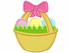 easter applique designs – Vyhľadávanie Google Applique Embroidery Designs, Machine Embroidery Applique, Egg Designs, Easter Baskets, Egg Basket, Star Stitch, Birthday Design, Boy First Birthday, Valentine Day Love