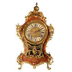 18th Century Louis XV Boulle Bracket Clock - French ca. 1760