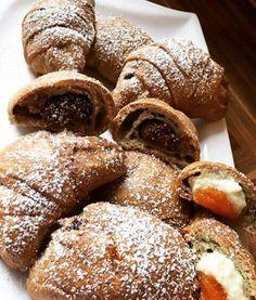 Éhezésmentes karcsúság Szafival - ÉDES CROISSANT VARIÁCIÓK SZAFI REFORM GLUTÉNMENTES CSÖKKENTETT SZÉNHIDRÁTTARTALMÚ KENYÉRLISZTBŐL (tejmentes, élesztőmentes, szójamentes, paleo) Paleo Dessert, Croissant, Vegan Life, Doughnut, Lemonade, French Toast, Food Porn, Gluten, Sweets