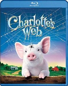 Charlotte's Web on DVD from d. Directed by Gary Winick. Staring Dakota Fanning, Reba McEntire, Cedric The Entertainer and Robert Redford. More Comedy, Drama and Book-To-Film DVDs available @ DVD Empire. Family Movie Night, Family Movies, Children Movies, Teen Movies, 2020 Movies, Netflix Movies, Watch Movies, This Is A Book, The Book
