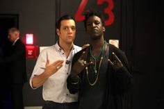 with poet and visionary, Saul Williams...
