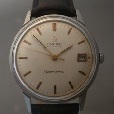 OMEGA vintage 1966 seamaster auto date ref 166.002 cal 565
