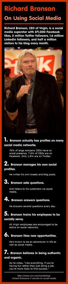 Richard Branson: On Using Social Media
