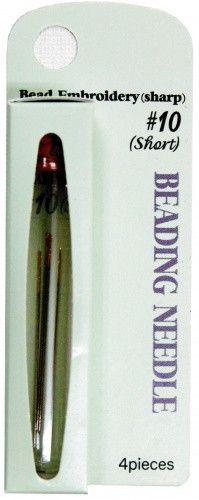 Tulip Beading Needle #10 Short / Sharp