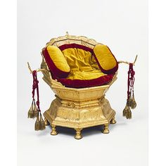 Maharaja Ranjit Singh's throne   Date: 1820-1830 (made)  Place: Lahore  Artist/maker: Hafiz Muhammad