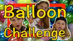 The Balloon Challenge with The GoJo Kids #kids