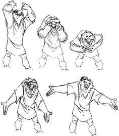Quasimodo Animation Sequence