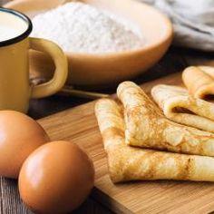 Pfannkuchenteig (Grundrezept, süß)