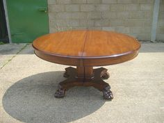 8ft Oval Extending Victorian Table Mid Victorian Trestle Support