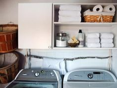 Naturally Chic - 10 Chic Laundry Room Decorating Ideas on HGTV