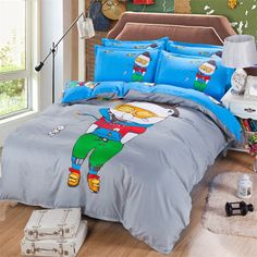 Find More Bedding Sets Information about Children Grey Single Twin Queen Size Sanding Bedding Set 3 4pcs Duvet Cover Sheet housse de couette Totoro cama bedding,High Quality sheet metal rotary machine,China bedding satin sheets Suppliers, Cheap sheet cutting from Top Qulity Human Hair Factory on Aliexpress.com