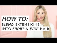 Change Your Look In Seconds With Human Hair Clip In Extensions Hair Extensions Tutorial, Luxy Hair Extensions, Hair Extensions For Short Hair, Clip In Hair Extensions, Short Hairstyles Fine, Wig Hairstyles, Protective Hairstyles, Haircuts, Short Thin Hair