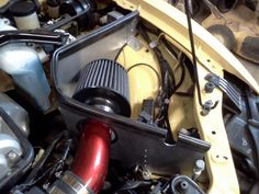 NB Miata intake cold air box