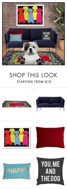 """""""Dog Home"""" by crochetragrug ❤ liked on Polyvore featuring interior, interiors, interior design, home, home decor, interior decorating, &Tradition, Pier 1 Imports, Thro and Oliver Gal Artist Co."""