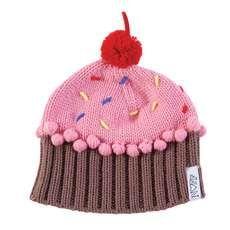 These Cupcake Beanies are Full of Sweetness #crochet #diy trendhunter.com