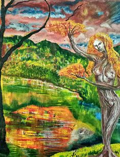 Surreal Art, Surrealism, Oil On Canvas, Seasons, Painting, Painted Canvas, Seasons Of The Year, Painting Art, Surreal Artwork