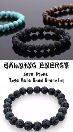 Hey, j'ai trouvé ce super article sur Etsy, chez https://www.etsy.com/fr/listing/268468557/black-lava-rock-beaded-mens-bracelet