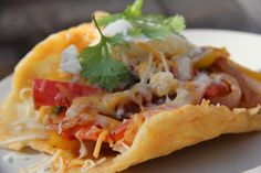 Cheese taco shells are a great grain free and low carb option for you to enjoy a loaded taco shell.  They are very easy to make and delicious to eat too!