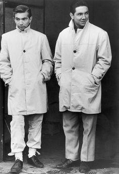 Hermanos Ricardo y Pedro Rodríguez, 1961.