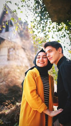 A-Line Wedding Dresses Collections Overview 36 Gorgeou… Cute Muslim Couples, Cute Couples Goals, Romantic Couples, Pre Wedding Photoshoot, Wedding Poses, Wedding Couples, Muslim Couple Photography, Photography Poses, Islam Marriage