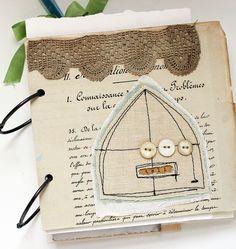 vintage documents journal (sold)