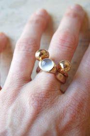 una: monica castiglioni. Monica Castiglioni, Sterling Silver Rings, Gold Rings, Family Jewels, Pretty Rings, Pink Sapphire, Jewelry Rings, Jewelry Design, Brooch