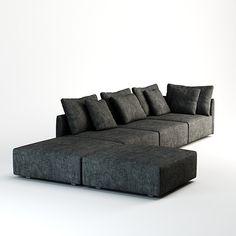 minotti milano sofa max free - Minotti Milano Sofa... by jimd