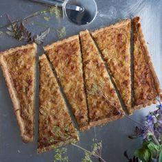 Onion and Pancetta Tart