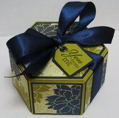 Debbie P's Place: Donna's Fabulous Hexagonal Gift Box