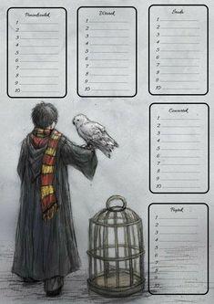 Harry Potter #harrypotterfunny Harry Potter Tie, Harry Potter Journal, Harry Potter Planner, Harry Potter Printables, Harry Potter Facts, Harry Potter Characters, Harry Potter Fandom, School Timetable, Harry Potter Aesthetic