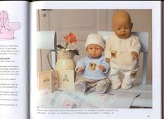 Bilde: Baby Born, Teddy Bear, Album, Yandex Disk, Pictures, Teddy Bears, Card Book