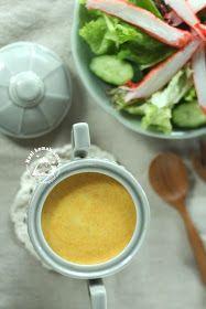 Japanese Miso and Carrot Salad Dressing 日式味噌胡萝卜沙拉酱