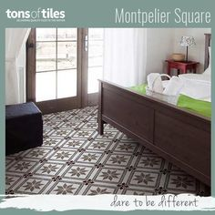 Montpelier Square Wall And Floor Tiles Are Inspired By Traditional Patterns  That Grace Majestic Townhouses In