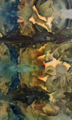 Terry Sargent Peart: ICE DYEING ON A SNOWY DAY; Dharma has instructions on ice dyeing